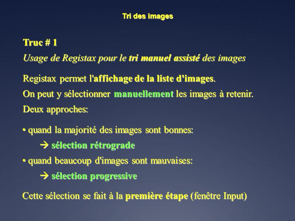 RegiStax Auteur: Cor Berrevoets Auteur: Cor Berrevoets Lecture de fichiers vidéo au format.avi. Lecture de fichiers vidéo au format.avi. Lecture d'ens