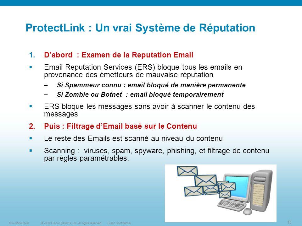 15 © 2009 Cisco Systems, Inc.
