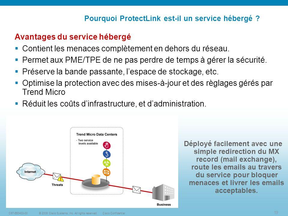 19 © 2009 Cisco Systems, Inc.