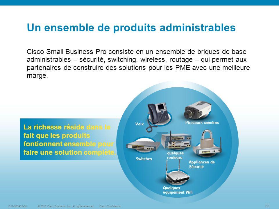 23 © 2009 Cisco Systems, Inc.