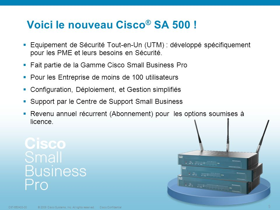 26 © 2009 Cisco Systems, Inc.