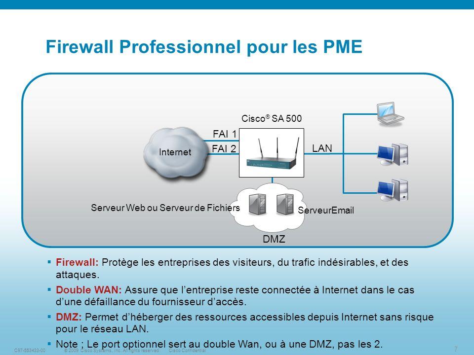 18 © 2009 Cisco Systems, Inc.