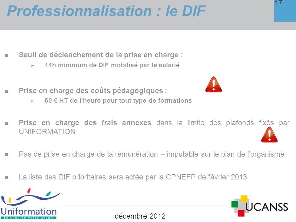LA PÉRIODE DE PROFESSIONNALISATION 4.
