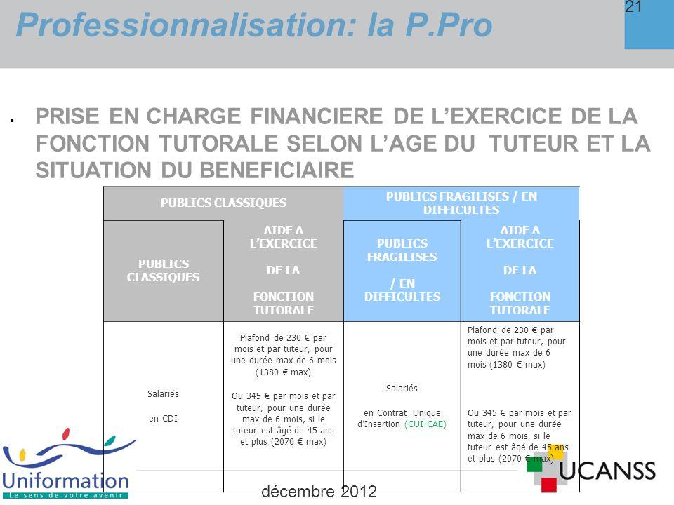 LE CONTRAT DE PROFESSIONNALISATION 4.