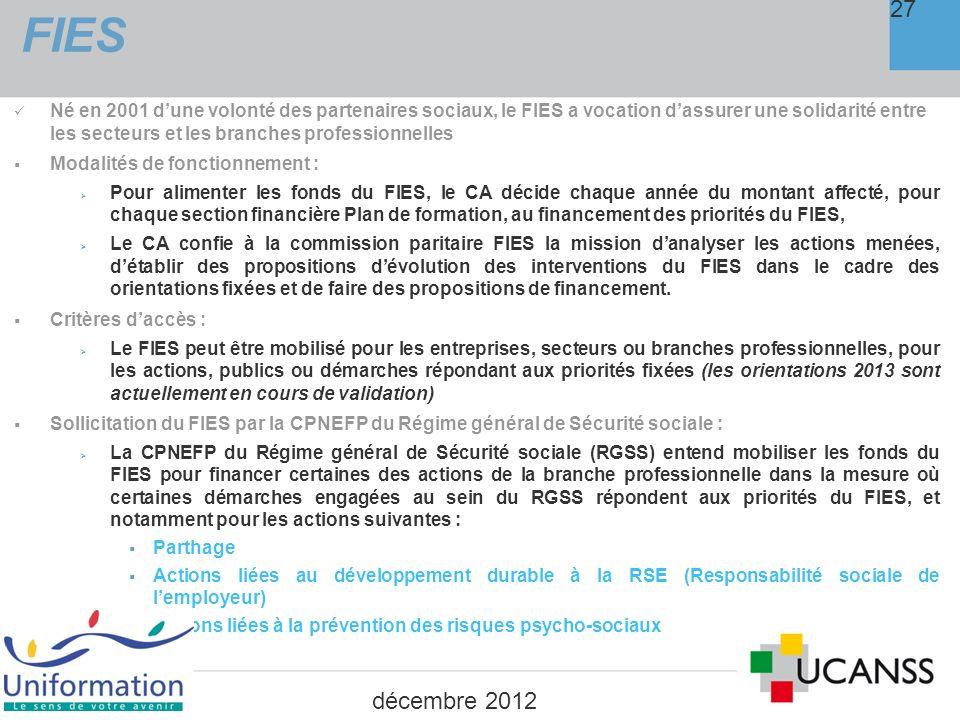 6. Délais : engagements et règlements 28 décembre 2012