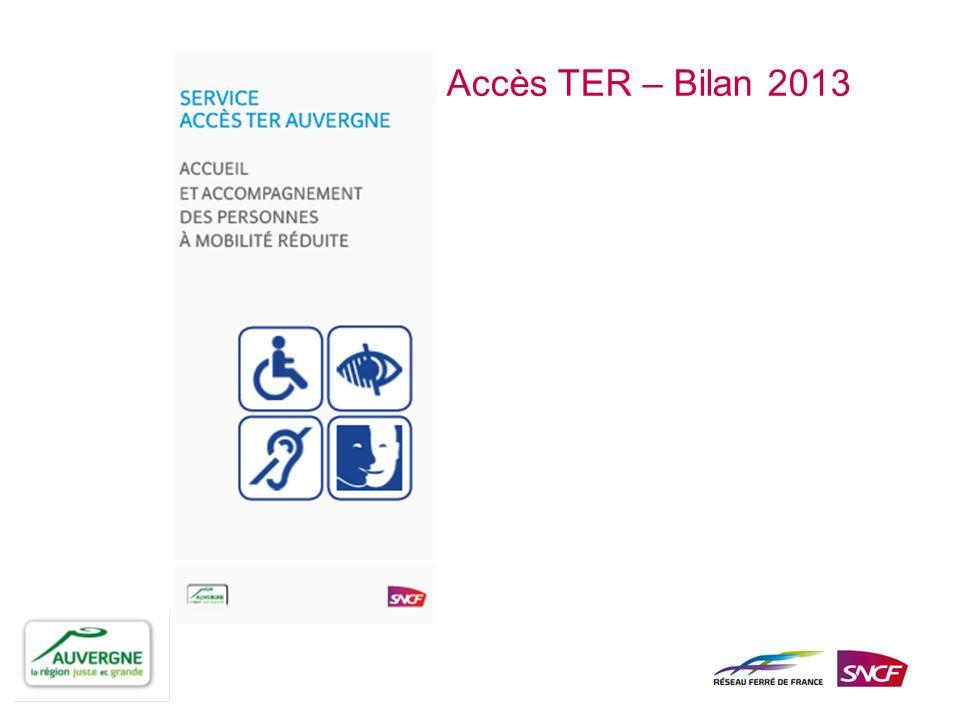 Mis en place par le Conseil Régional dAuvergne et la SNCF, le service ACCES TER assure laccueil et laccompagnement des personnes à mobilité réduite pour faciliter leurs déplacements à bord des trains et cars TER Auvergne.