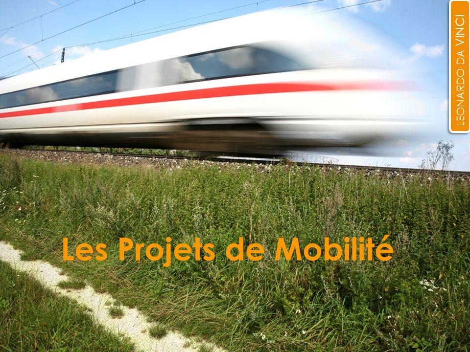 1 Les Projets de Mobilité LEONARDO DA VINCI