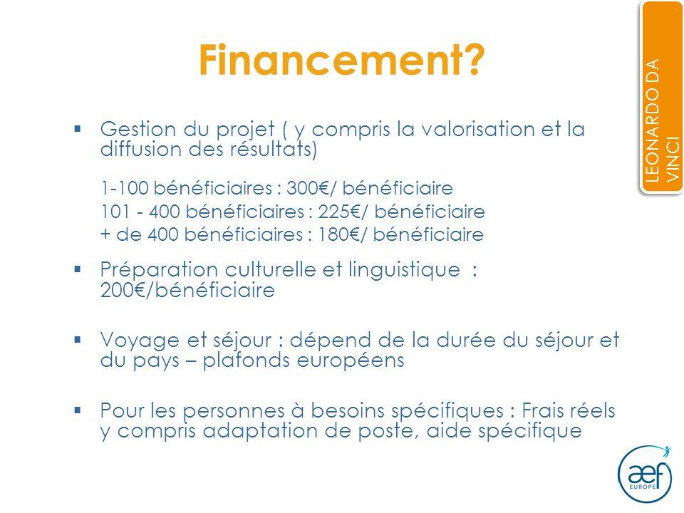 10 Financement.