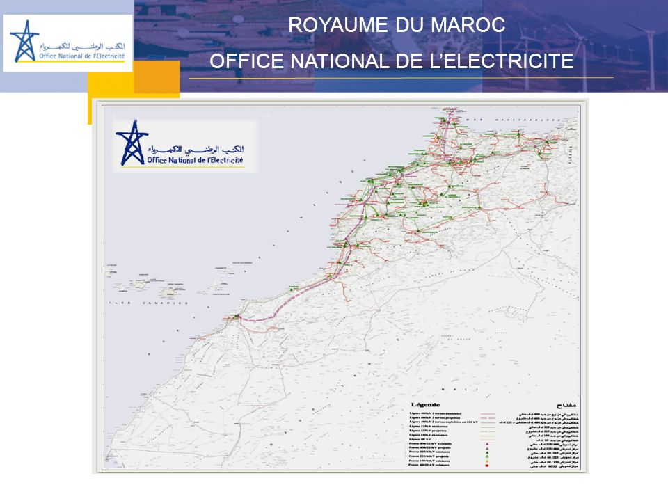 ROYAUME DU MAROC OFFICE NATIONAL DE LELECTRICITE