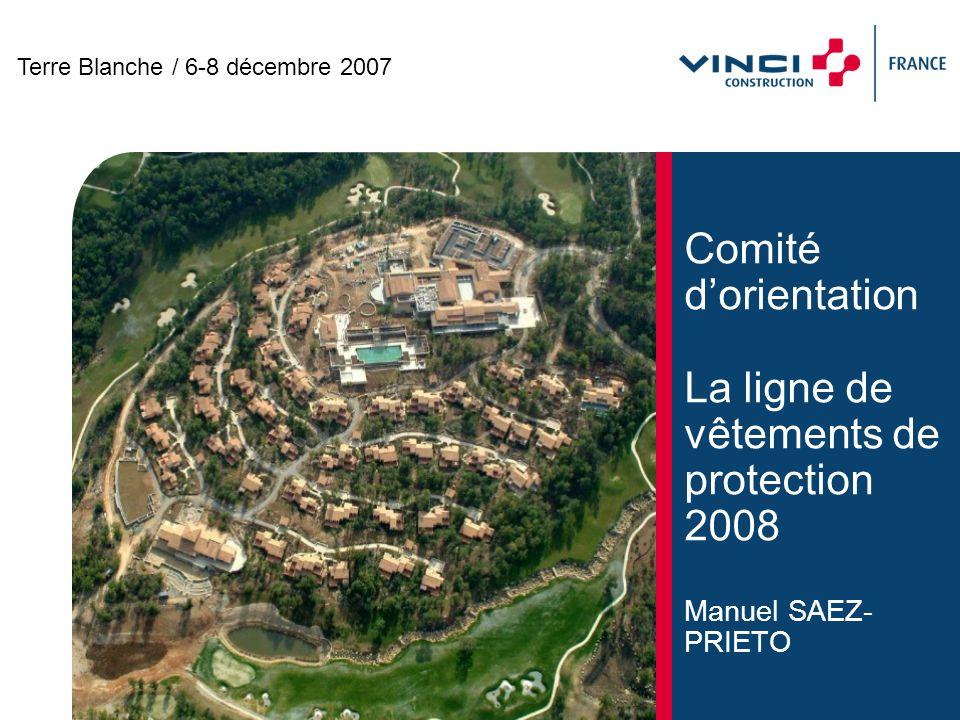 Comité dOrientation/Terre Blanche/6-8 décembre 2007 11 Nouveauté : T-shirt manche longue