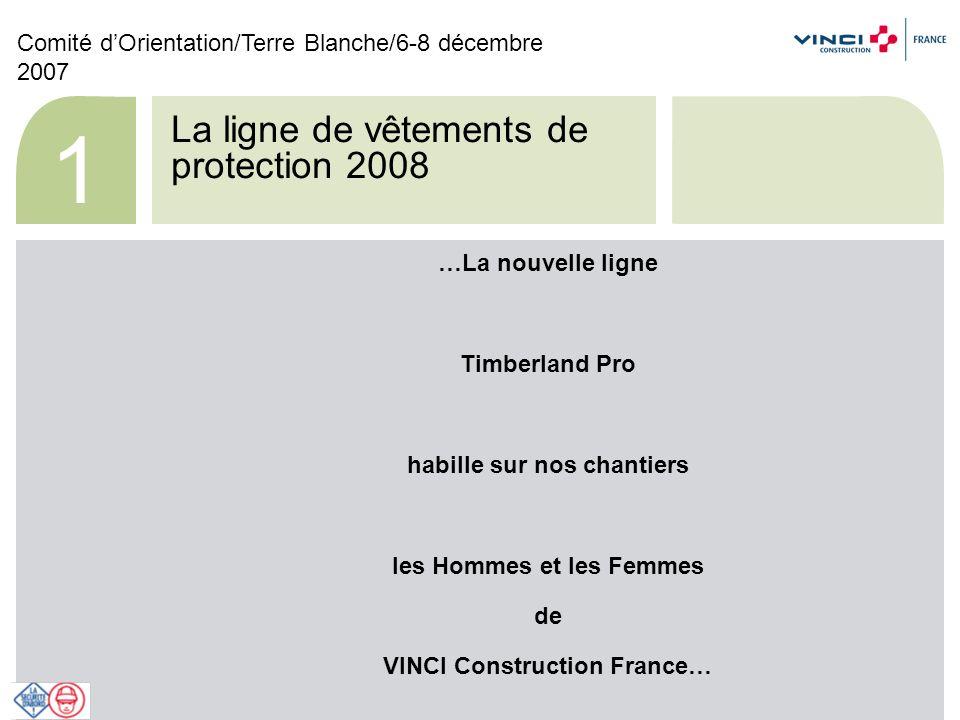 Comité dOrientation/Terre Blanche/6-8 décembre 2007 12 Nouveauté : T-shirt femme + Pantalon femme