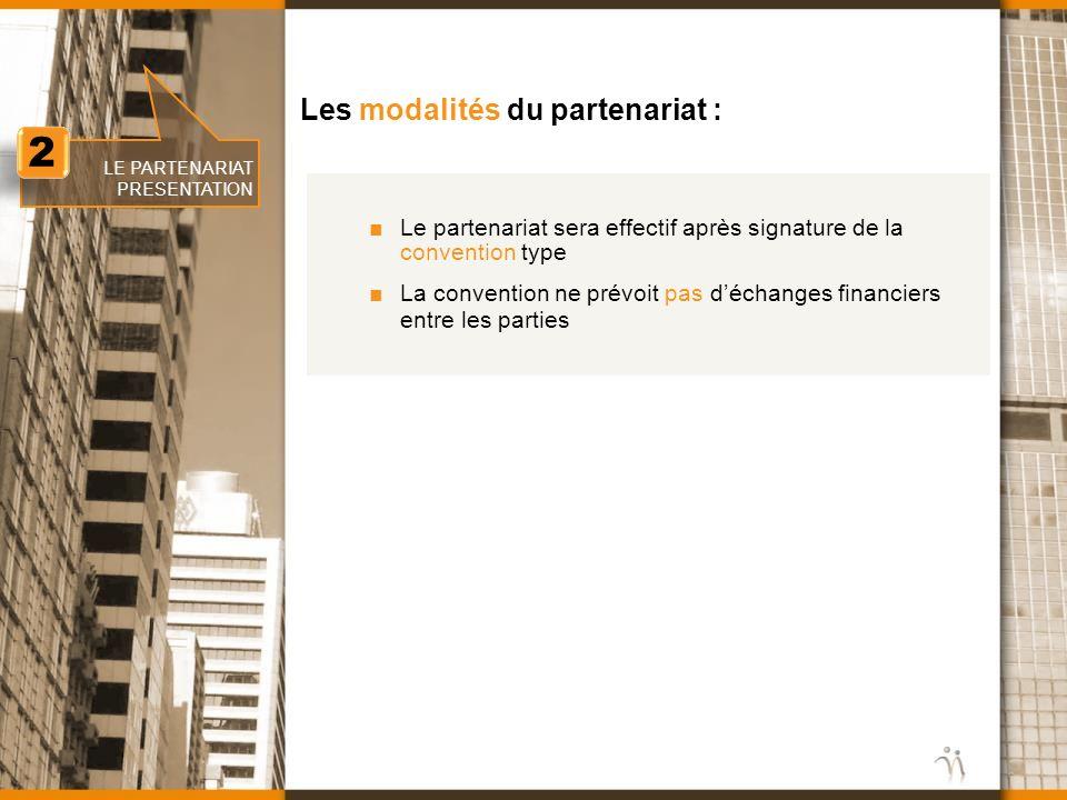 www.nomination.fr 2 2 LE PARTENARIAT PRESENTATION Les modalités du partenariat : Le partenariat sera effectif après signature de la convention type La