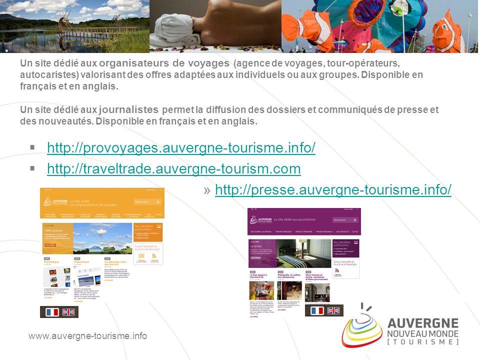 Un dispositif mobile AuvergneDream = une application tablette (iOS et Android).