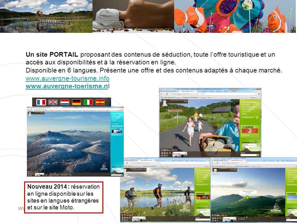 www.auvergne-tourisme.info Pour la promotion de la filière Vélo et Moto, deux sites dédiés : www.auvergne-moto.fr et www.auvergne-velo.fr www.auvergne-fiets.nl www.auvergne-moto.frwww.auvergne-velo.fr www.auvergne-fiets.nl
