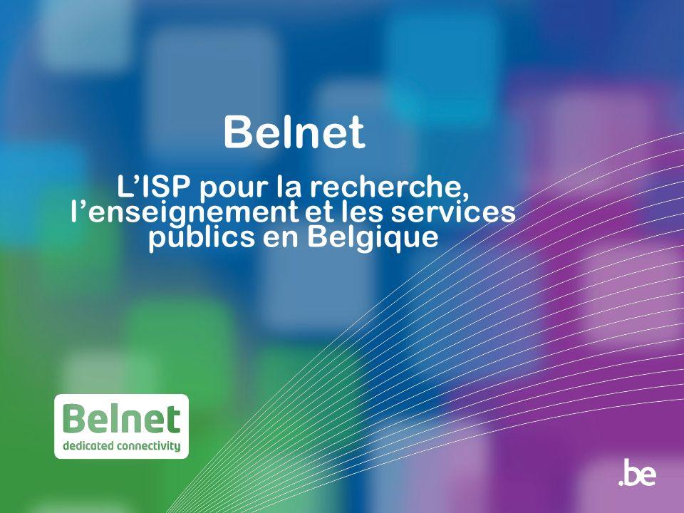 Belnet LISP pour la recherche, lenseignement et les services publics en Belgique