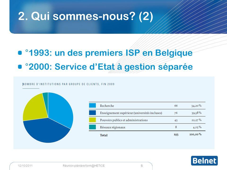 Réseau mondial 16 Réunion plénière form@HETICE12/10/2011