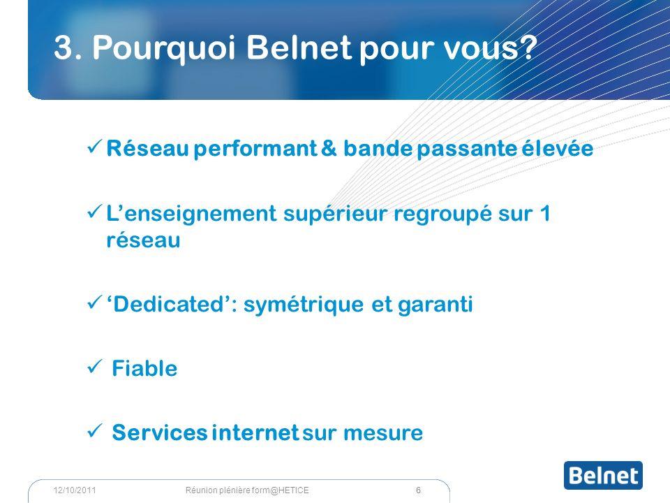 3. Pourquoi Belnet pour vous.