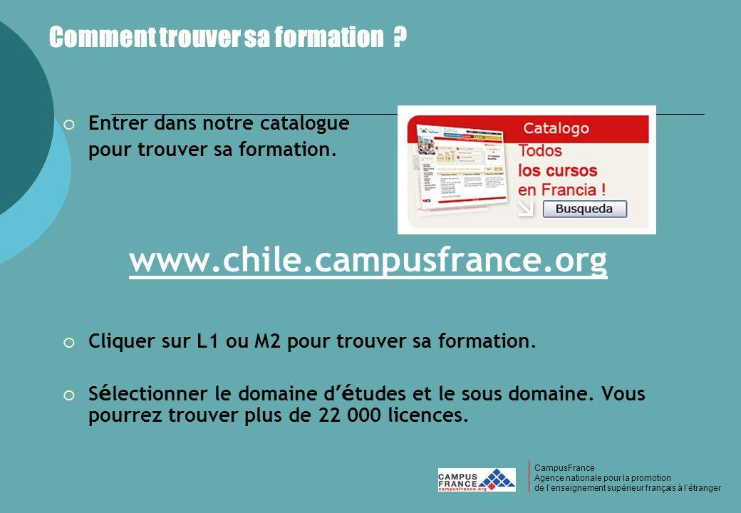 CampusFrance CampusFrance Agence nationale pour la promotion de lenseignement supérieur français à létranger Comment trouver sa formation ? Entrer dan