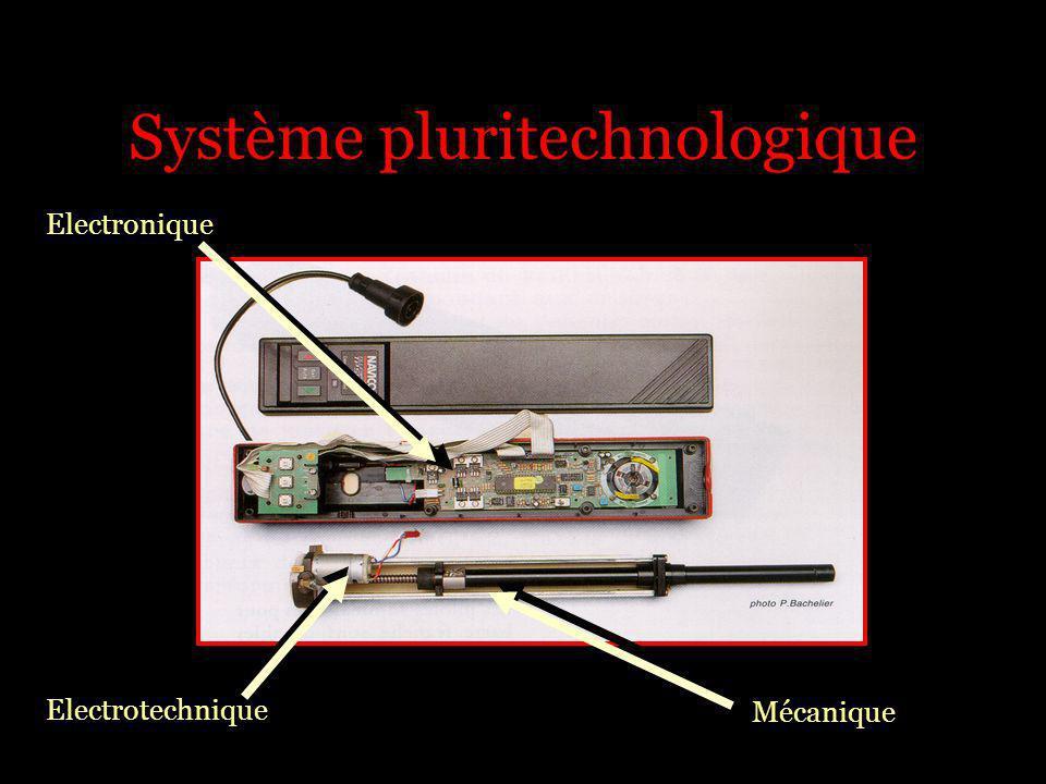 Système pluritechnologique Electronique Electrotechnique Mécanique