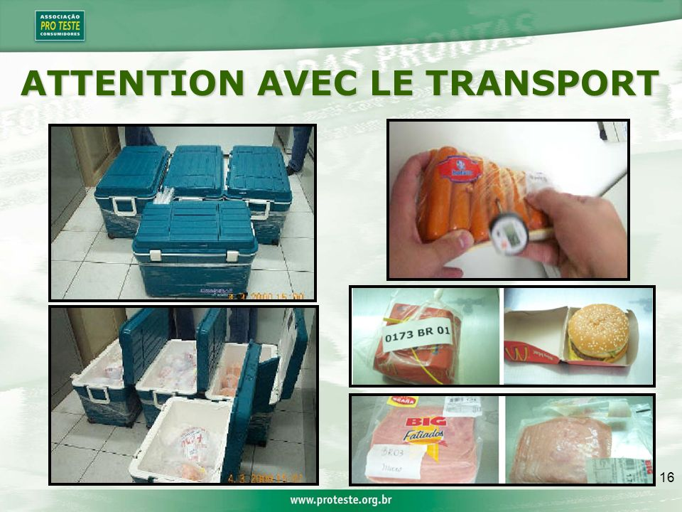 16 ATTENTION AVEC LE TRANSPORT