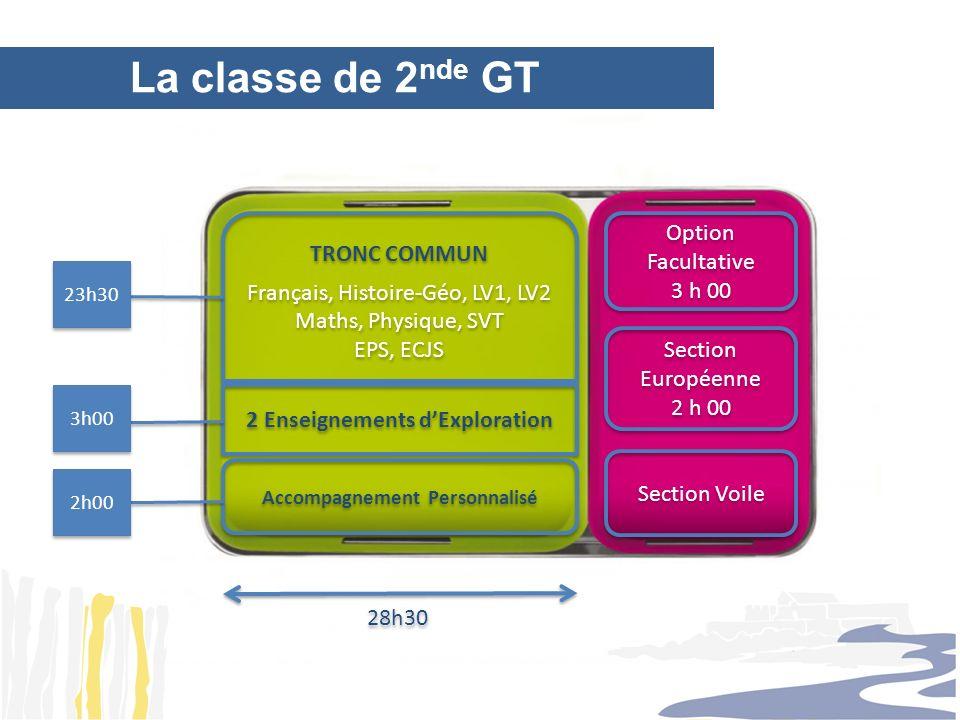 TRONC COMMUN Français, Histoire-Géo, LV1, LV2 Maths, Physique, SVT EPS, ECJS TRONC COMMUN Français, Histoire-Géo, LV1, LV2 Maths, Physique, SVT EPS, E