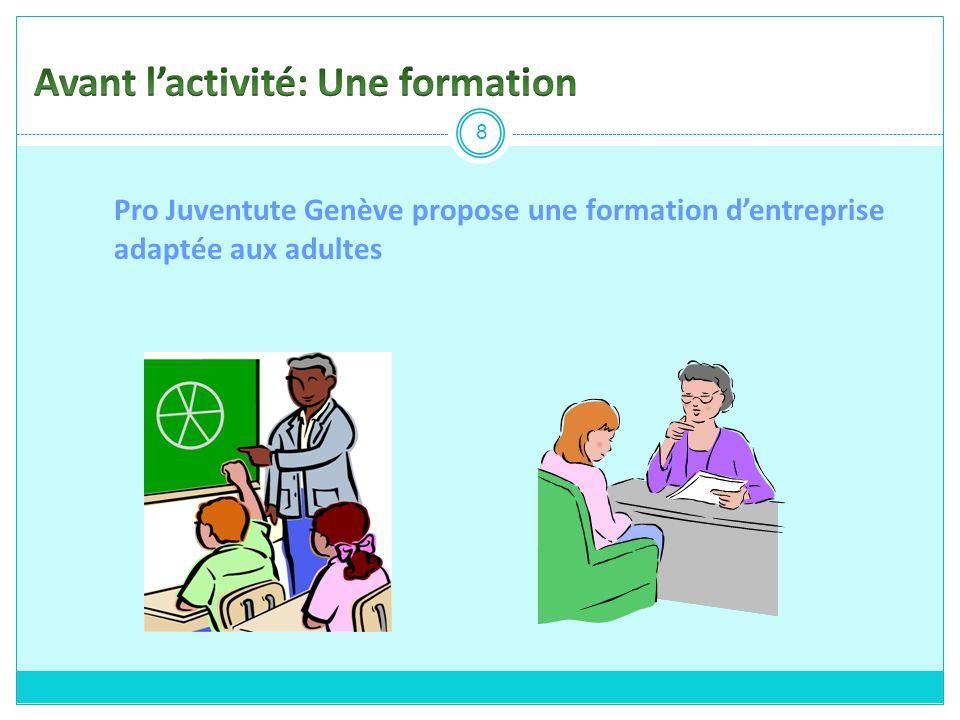 Pro Juventute Genève propose une formation dentreprise adaptée aux adultes 8