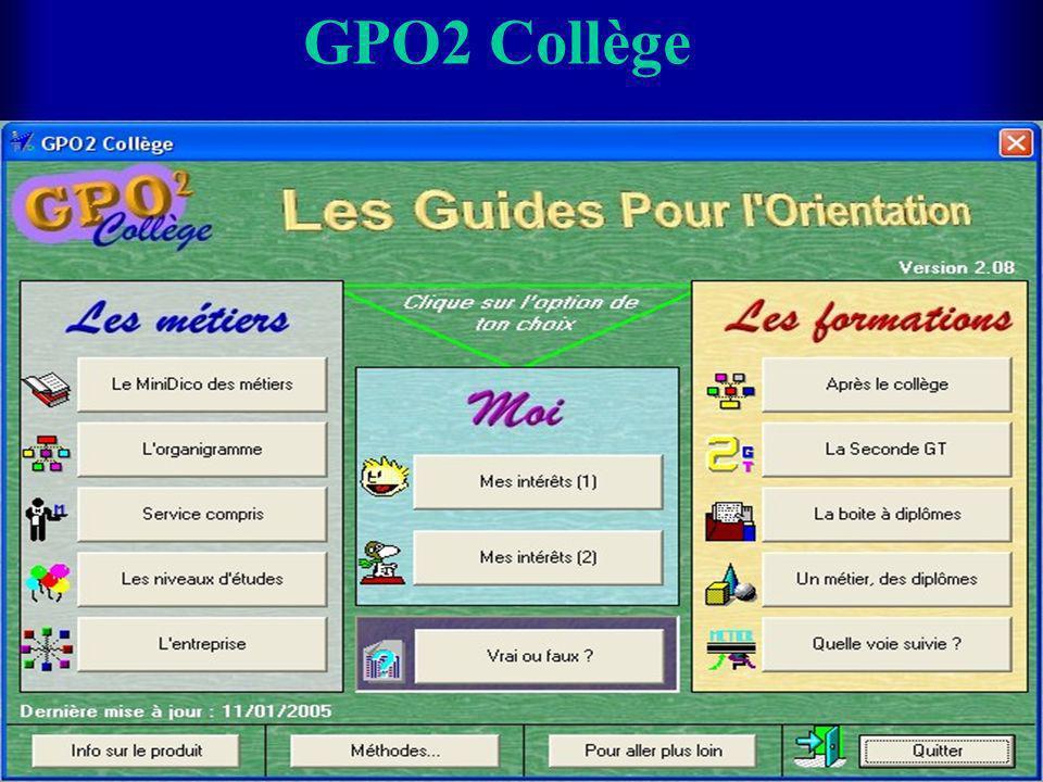 GPO2 Collège