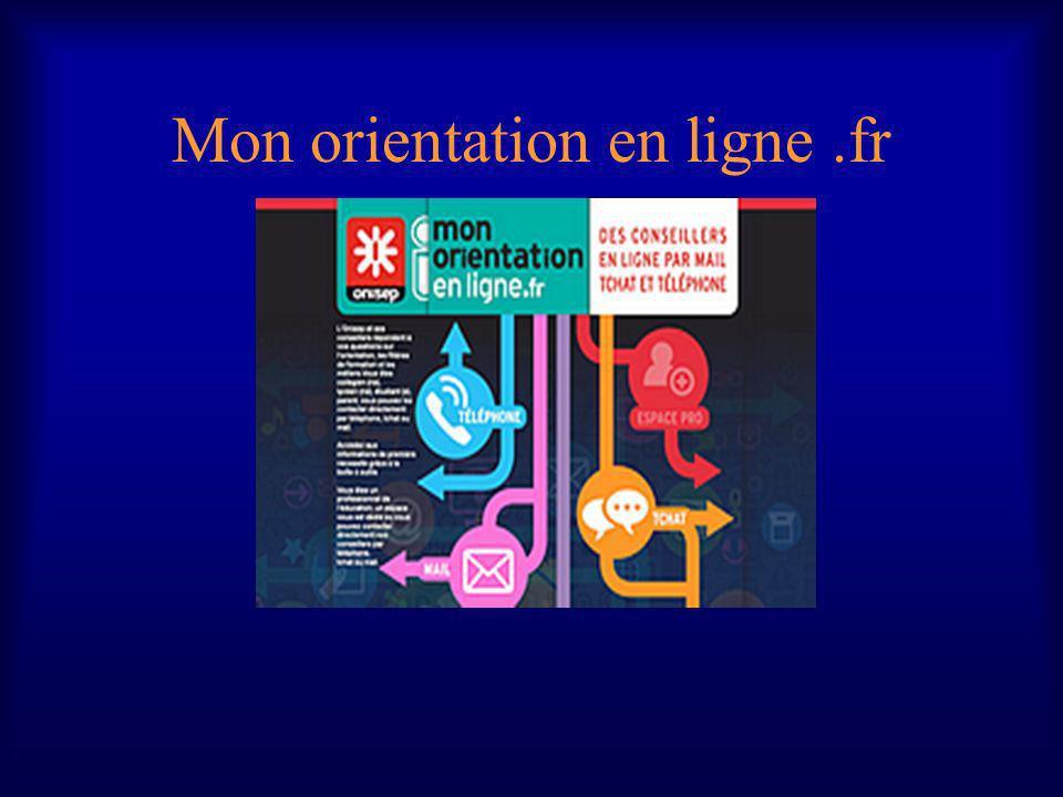Mon orientation en ligne.fr
