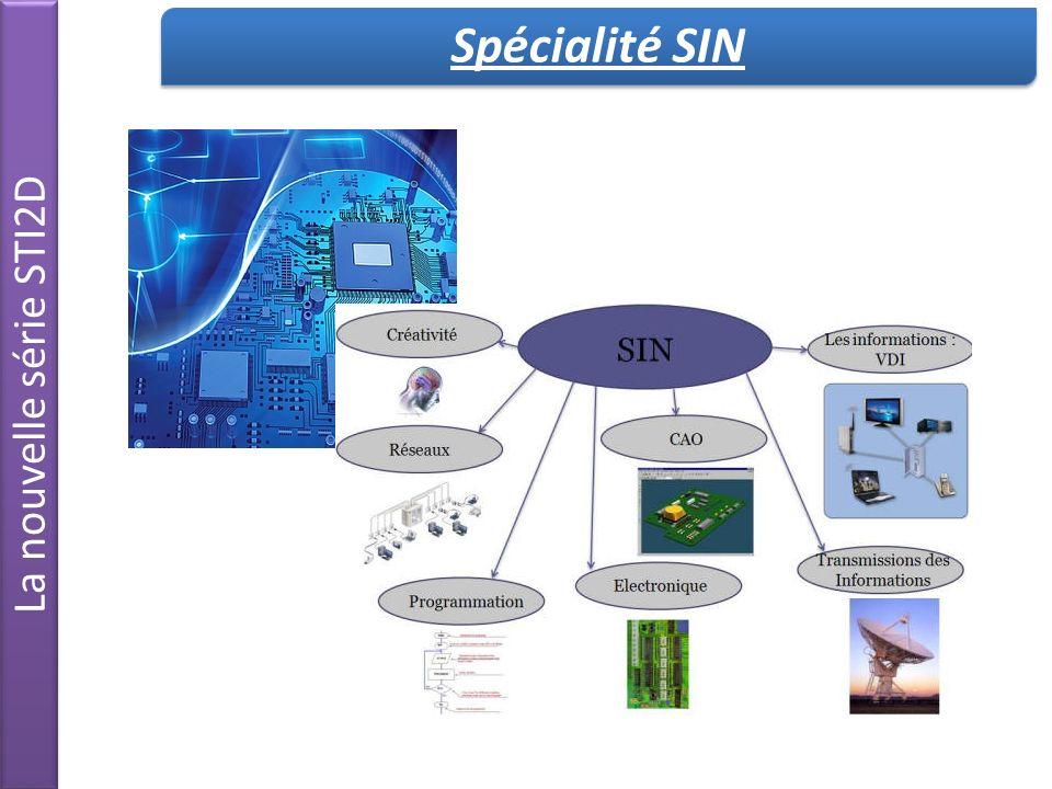 Spécialité SIN La nouvelle série STI2D