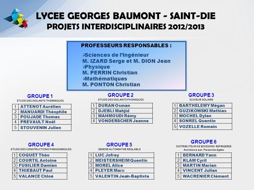 ETUDE DES CONSTRUCTIONS PARASISMIQUES GROUPE 4 – 5 Elèves PROJET 4 Production(s) attendue(s).
