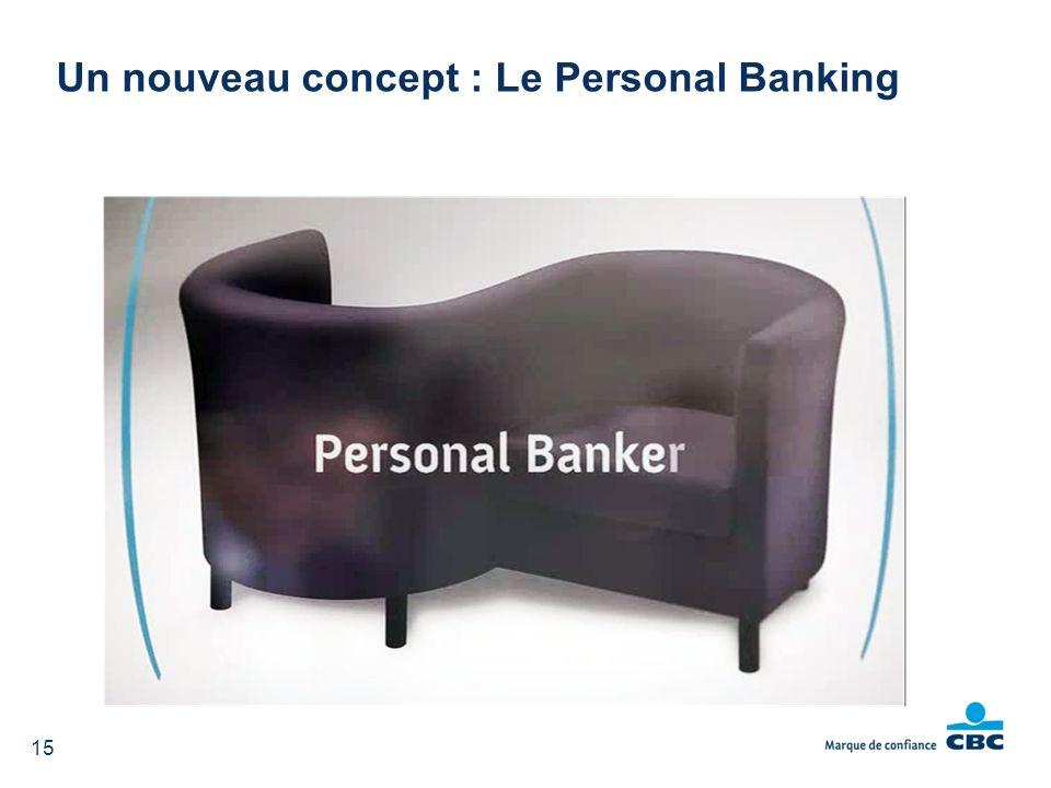 15 Un nouveau concept : Le Personal Banking