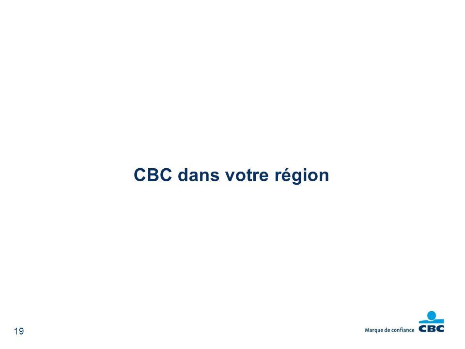 19 CBC dans votre région