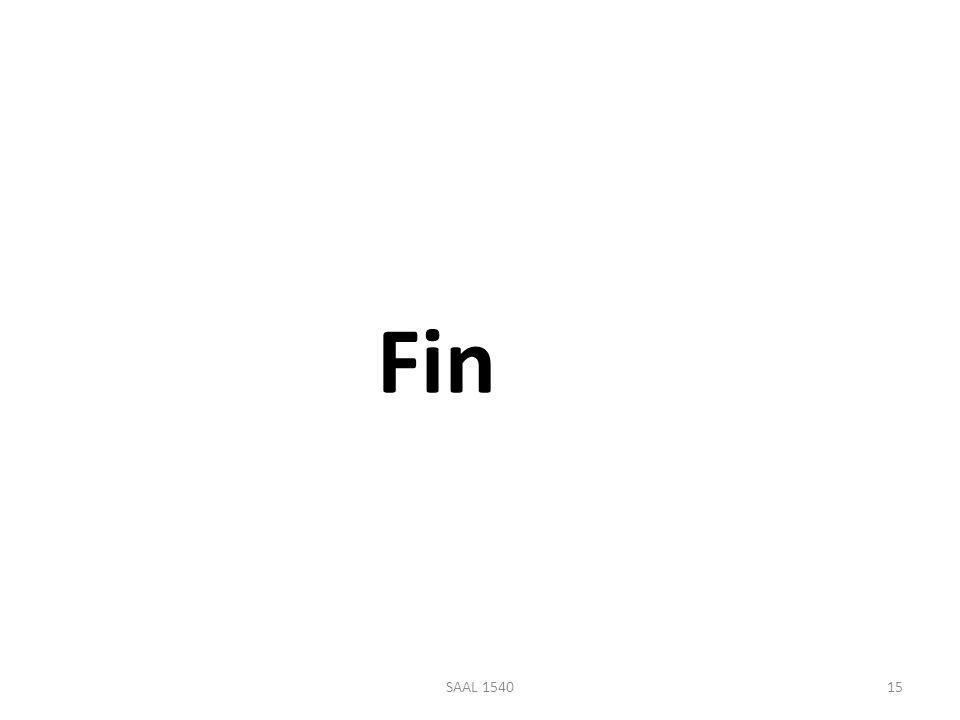 Fin 15SAAL 1540