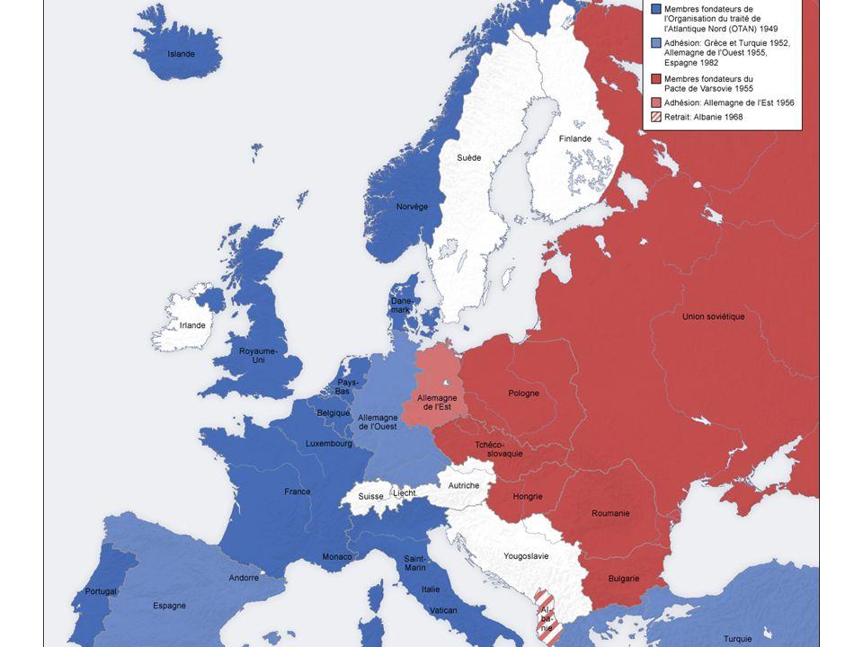 La guerre froide : lEurope se construit à lOuest