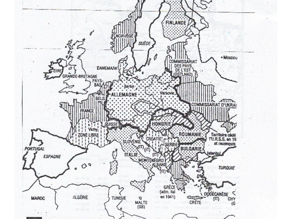 Le repoussoir : une unification totalitaire, lEurope sous le IIIe Reich