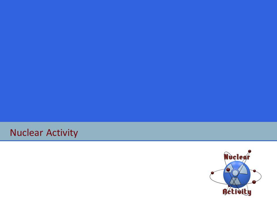 Nuclear Activity