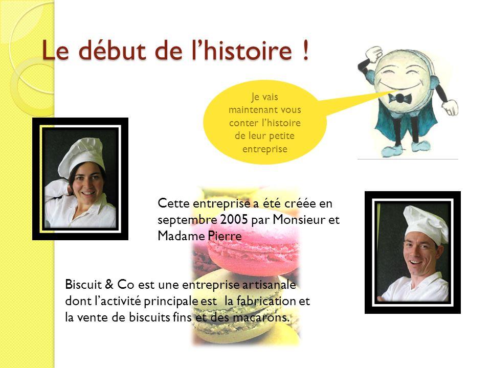 Le début de lhistoire ! Cette entreprise a été créée en septembre 2005 par Monsieur et Madame Pierre Je vais maintenant vous conter lhistoire de leur