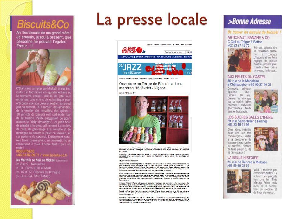 La presse locale