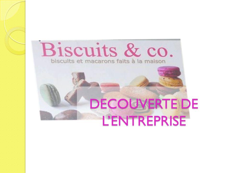 Nous arrivons à lentreprise et sommes accueillis par Monsieur et Madame Pierre (chefs dentreprise) qui nous présentent Biscuits & Co et répondent à nos questions Décembre 2011, premier contact : visite du magasin et de lentreprise le Biscuits & Co avec les élèves