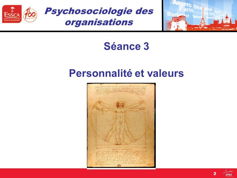 Séance 3 Personnalité et valeurs 2
