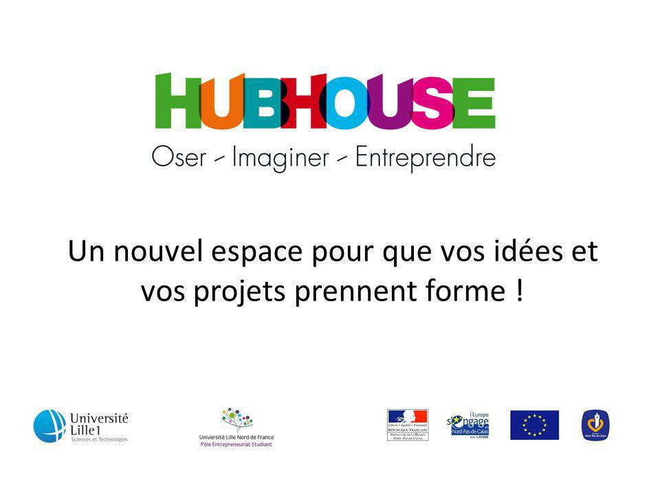 Un nouvel espace pour que vos idées et vos projets prennent forme !
