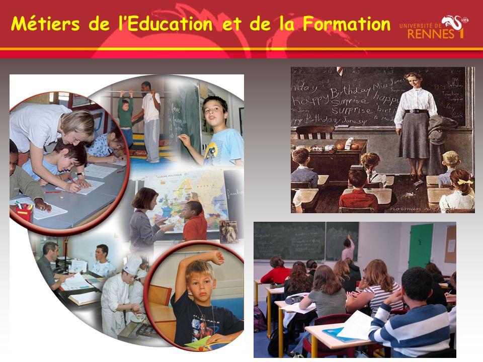 Métiers de lEducation et de la Formation