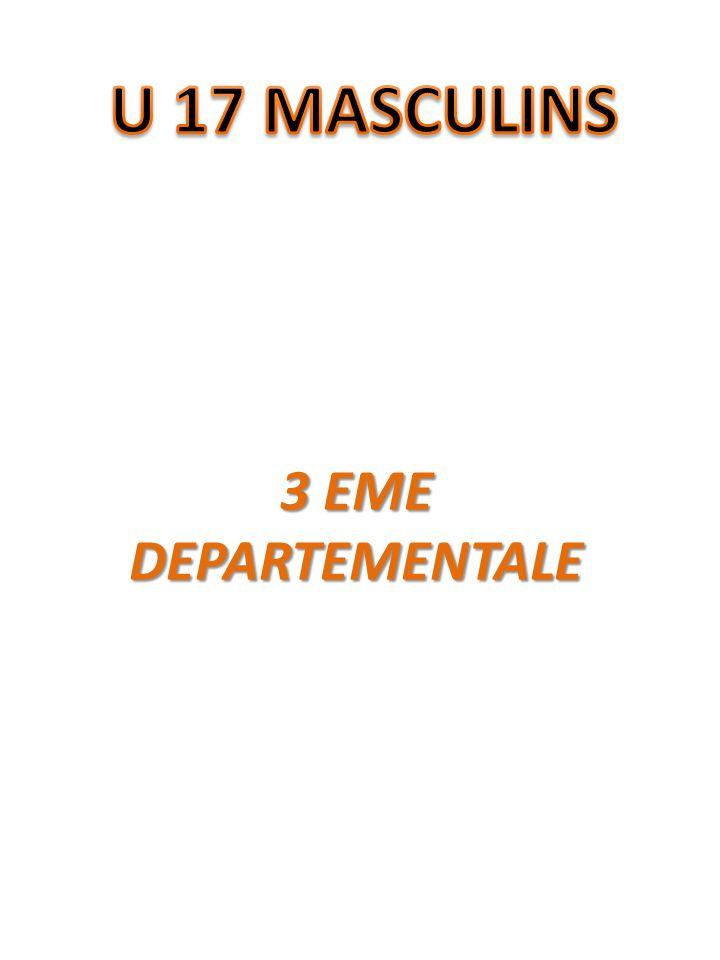 3 EME DEPARTEMENTALE
