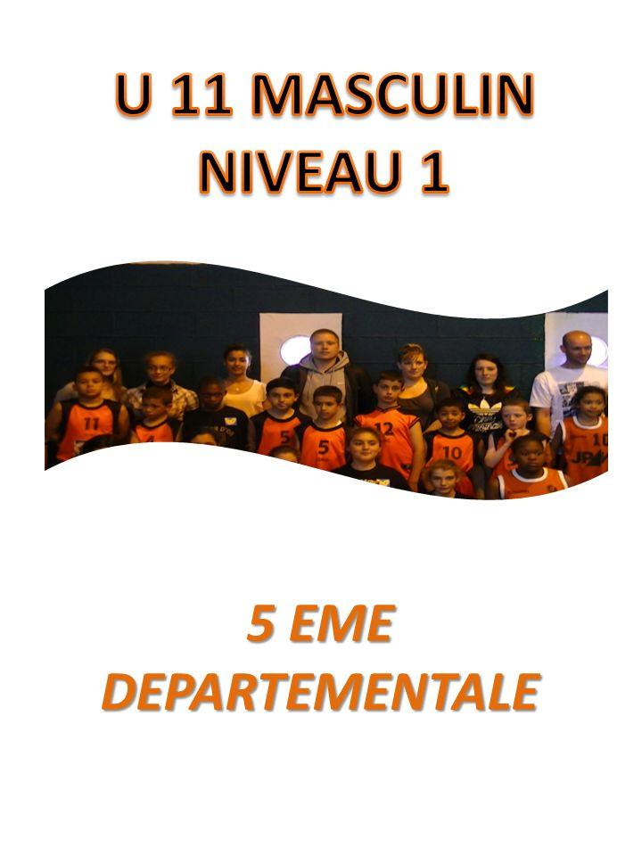 1ERE PHASE DEPARTEMENTALE: 1ERE 2EME PHASE REGIONALE: 3EME 1/8 EME DE FINALISTE DE LA COUPE DE FRANCE