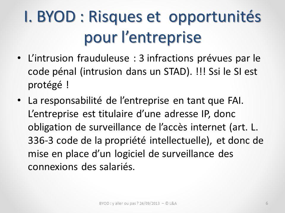 La contrefaçon de logiciel.– Responsabilité civile de lentreprise (art.