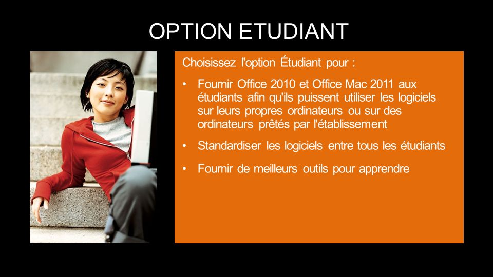 OPTION ETUDIANT