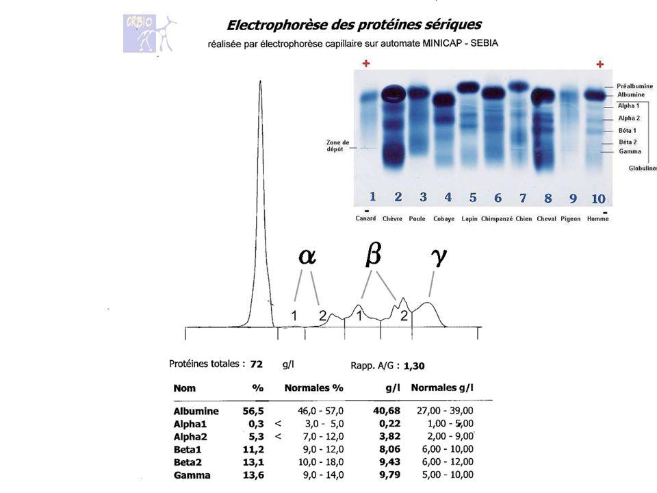 Signes Biologiques de linflammation 4/ Protéines de linflammation PRI 4-1 PRI a amplitude de variation élevée 4-2 PRI a amplitude de variation Modérée 4-3 PRI a amplitude de variation Faible