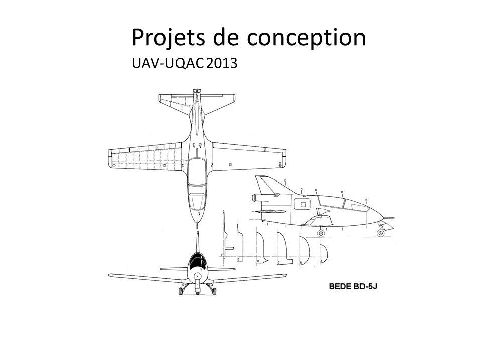 Projets de conception UAV-UQAC 2013