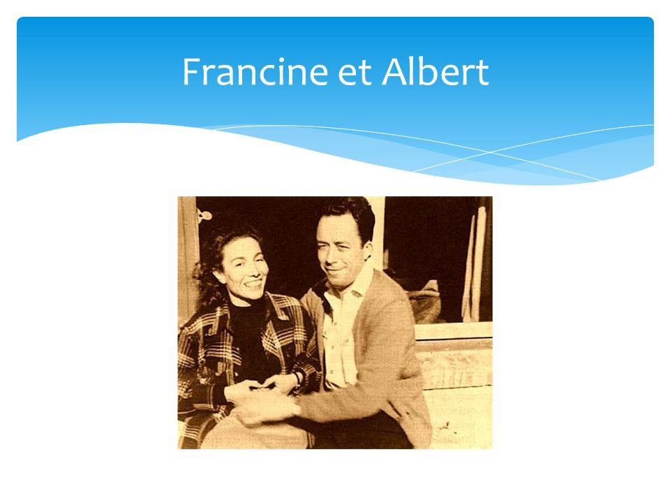 Francine et Albert