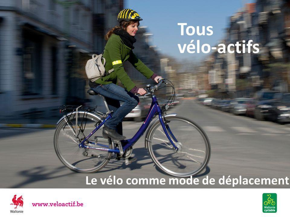 Le vélo est BON pour la SANTE Permet de faire du sport tous les jours Atténue le stress Agit favorablement sur le poids lorsque la pratique du vélo se combine avec une alimentation équilibrée Limite les risques de Cancer Diabète Hypertension Maladies cardio-vasculaires Rhume, bronchite, grippe … Allongerait l espérance de vie de deux ans, risques daccidents compris (Hillman 1994) Rouler à vélo